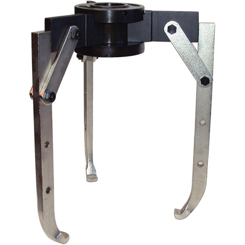 Kstools - Extracteurs universels à trois griffes réglables et bras de potence pivotants 500x440x17 mm