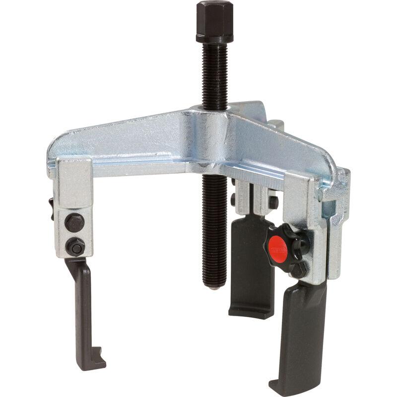 Kstools - Extracteurs universels à 3 griffes fines avec réglage et blocage rapide 50-160 mm