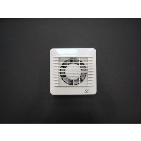 Extractor Baño Axial 95m3/h Pers.aut Bl Edm-100c S&p