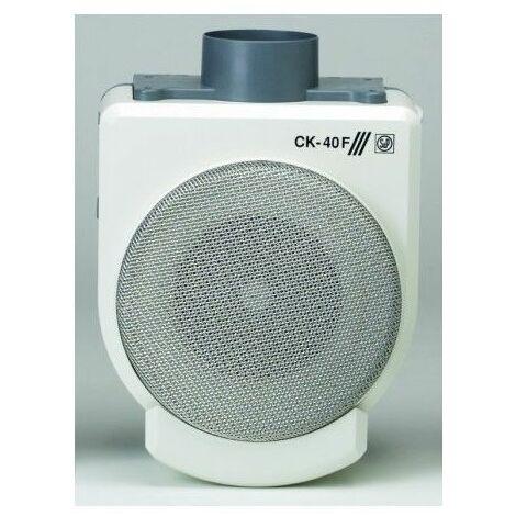 Extractor Cocina Centrifugo 360M3/H Bandeja Recogegrasa Plastico Ignifugo Blanco S P