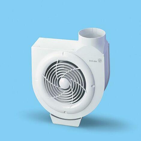 Extractor Cocina Centrifugo 480M3/H Bandeja Recogegrasa Acero Blanco S P