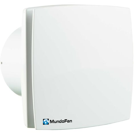 Extractor de baño diámetro 125 mm blanco