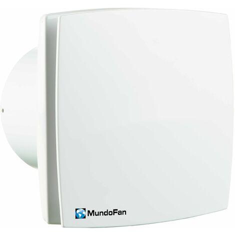 Extractor de baño diámetro 125 mm temporizado blanco