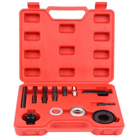 Extractor de extractores de poleas automotrices Conjunto de instalador Bomba de direccion asistida Polea del alternador, 1 juego