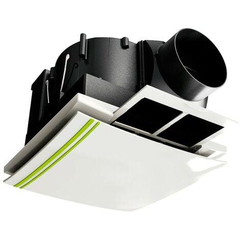 Extractor de techo con filtro Serie APF Ø100 - Blanco