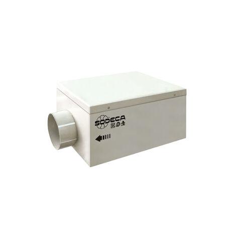 Extractor en línea para conductos Sodeca SV-125/H
