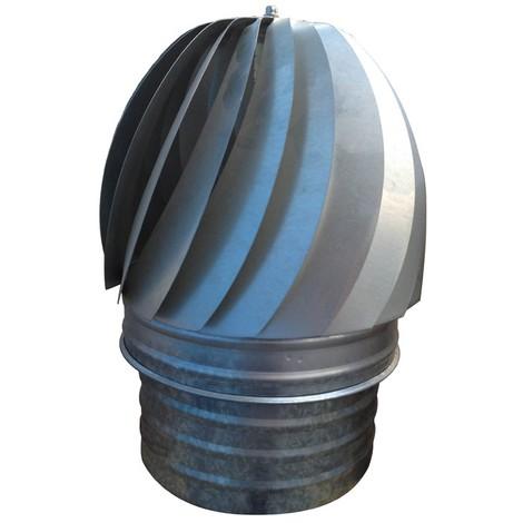 Extractor Giratorio Galvaniz - EXOJO - EG130 - 130 MM