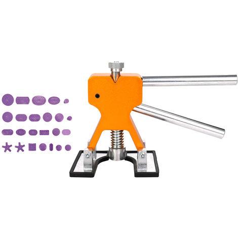 Extractor, herramienta de reparacion de automoviles, junta de 24 piezas, dorado