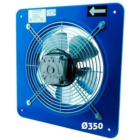 Extractor industrial mundofan helicoidal de pared 350 - Azul
