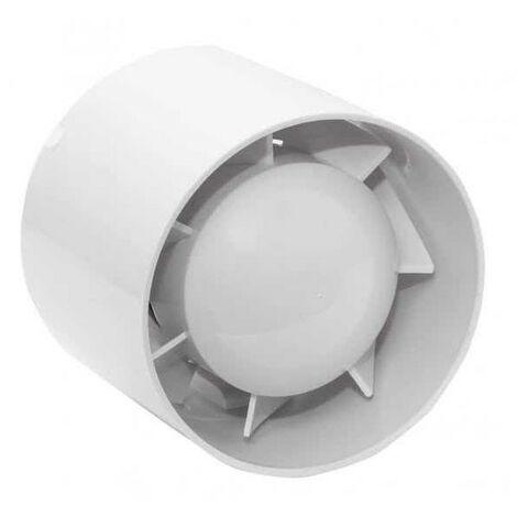 Extractor Para Ba?o Gravino 15w 100mm Blanco Db 34 180m3/h 9,8x10,5