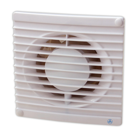 Extractor para eliminación de humos, ventilación de malos olores y humedades Electro DH 71.505 8430552138432