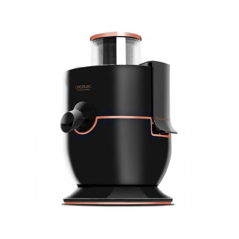 Licuadora orbital para fruta y verdura extremetitanium 19000, potencia 1000w, 19000rpm velocidad, canal de entrada xl, 2 velocid