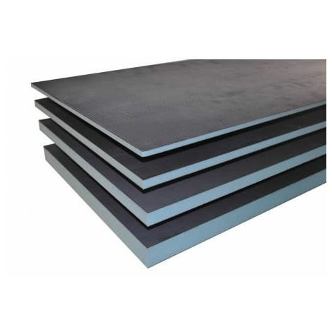 Extrudierte und starre Platte aus XPS, Fliesen bereit, Valstorm, 1250 x 600 x 30 mm 1