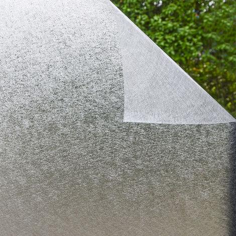 eyepower Film pour Fenêtre 90x200cm autoadhésive statique verre dépoli Glace
