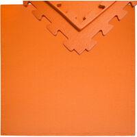 Eyepower Embouts Tapis Orange De Extensible 12mm Sol Incl Protection Puzzle Épais Fitness Sport Eva 90x90cm En Mousse HW29bDIYeE