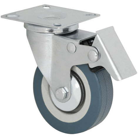 Eyepower Transportrolle Schwerlastrolle Mit Anschraubplatte