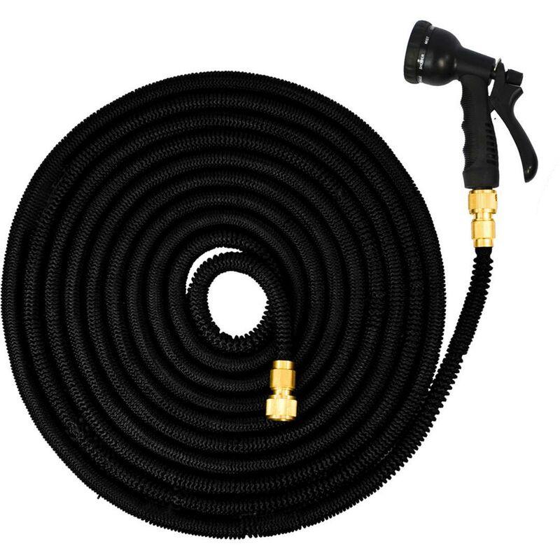 Eyepower tuyau pour arroser lastique magic hose - Chauffer sa piscine avec tuyau noir ...