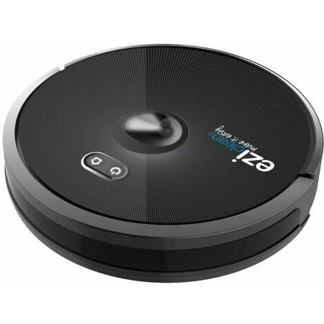 EZIclean Connect x600 – Robot aspirateur connecté – Navigation Cameraslam – 55dB – 120 min – 120m² – 600 mL