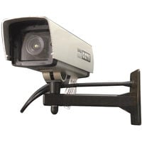 ezlok Dummy CCTV Camera Square With Flashing LED