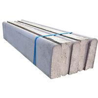 F P McCann Concrete Round Top Path Edging 915 x 150 x 50mm