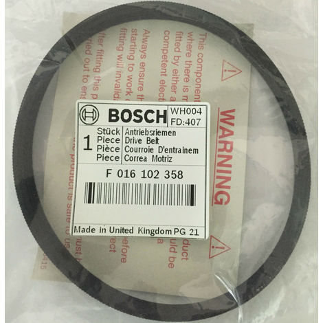 F016102358 Drive Belt - Correa BOSCH AMR 32 ASM 32 GENUINE BOSCH