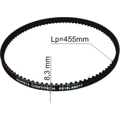 F016L66677 Drive Belt for ROTAK 32 Genuine BOSCH spare-part