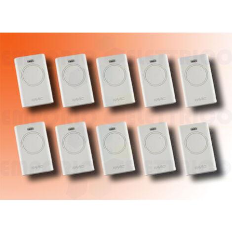 faac 10 2-channel remote controls xt2 868 slh lr 787009