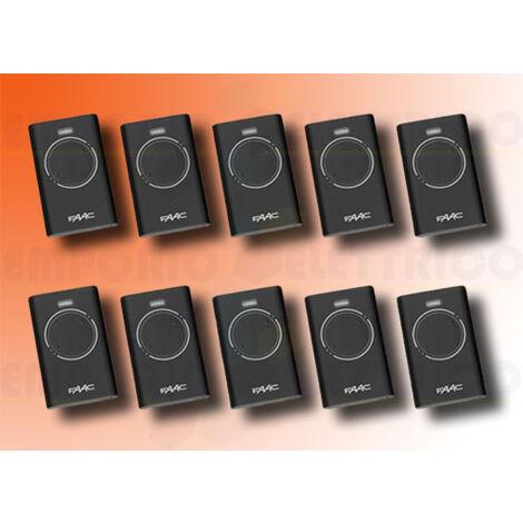 faac 10 2-channel remote controls xt2 868 slh lr 7870091