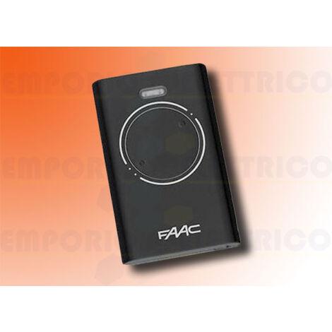 faac 2-channel transmitter 868mhz xt2 868 slh lr 7870091