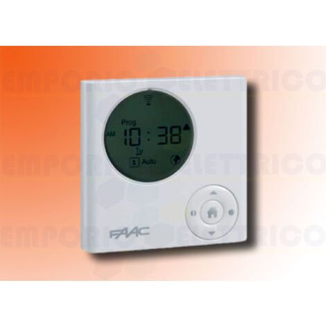 faac 6-channel programmable timer 433mhz t-mode tm xtt 433 132115