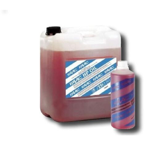 faac aceite hidraulico faac hp oil confeccion de 25 litros 714018