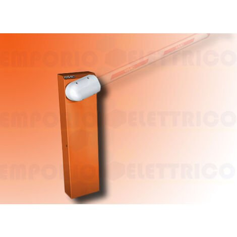 faac automatic barrier 230v 615bpr standard orange 104906