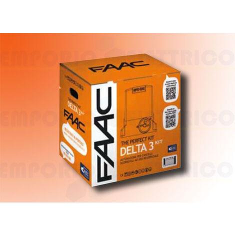 faac automation kit 230v ac delta3 kit perfect 105918