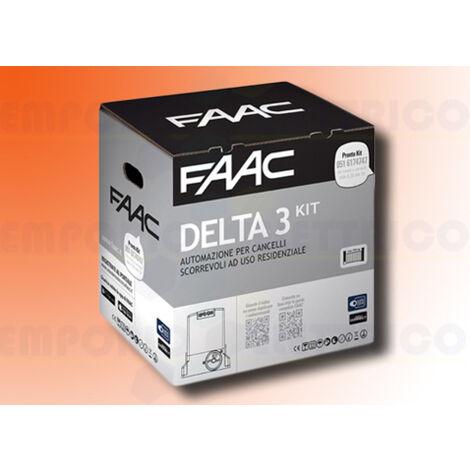 faac automation kit 230v ac delta3 kit safe 105630445