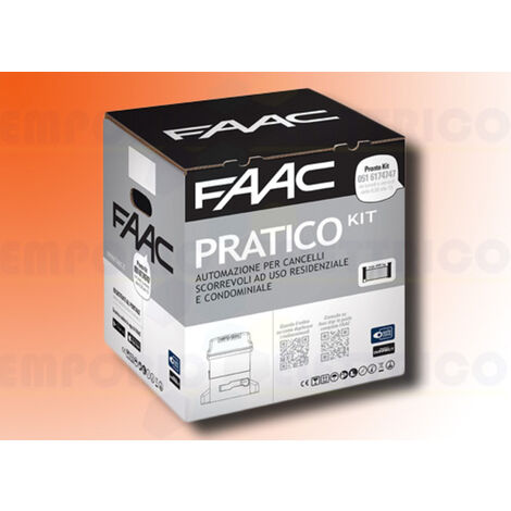 faac automation kit 230v ac pratico kit safe 10564944