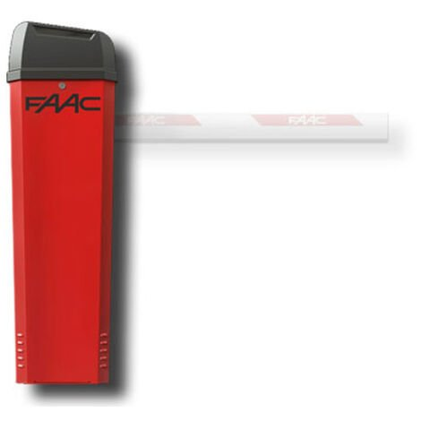 faac barrera automática 24v b614 104614