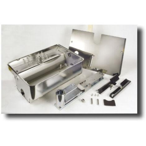 faac caja portante de axero inox con desbloqueo 490110