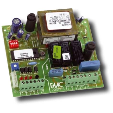 faac carte électronique 200mps 230v ac 790905