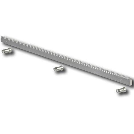 faac crémaillère galvanisée 30x12 m4 - fixations - 1 mt - 490124