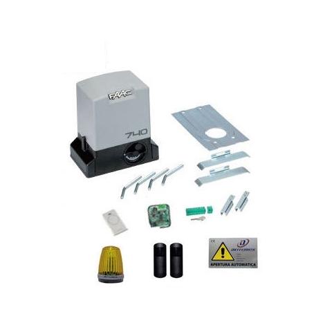 Faac Delta 2 740 Kit Cancello Scorrevole Apri Automatismo