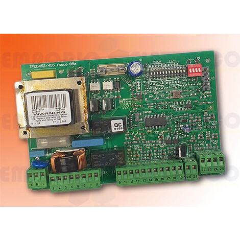 faac electronic card 452mps 452 mps 230v ac 790916