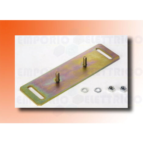 faac fixing plate for 3-dimensional adjustment (for 540-541 motors) 390721