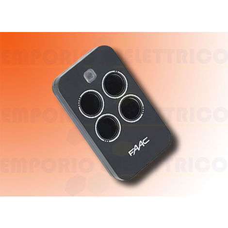 faac four-channel remote control xt4 433 rc 787456 (ex 787454)
