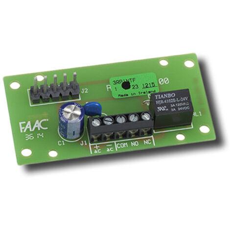 faac interface relais pour les récepteurs rp 787725