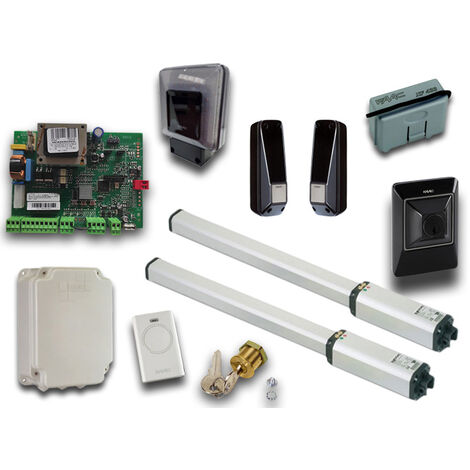 faac kit automatización 230v ac leader kit green 105633445