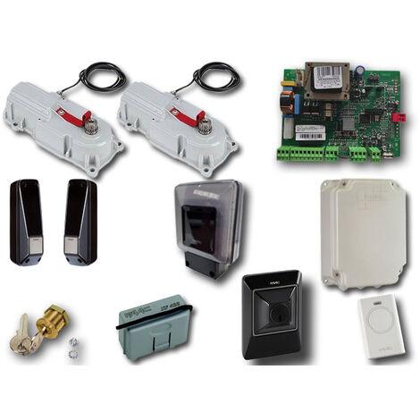 faac kit automatización 230v ac power kit green 106746445