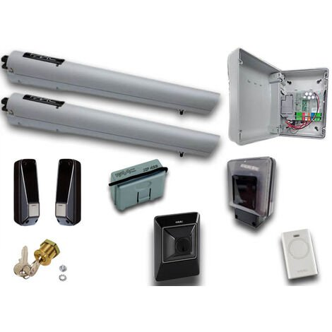 faac kit automatización 24v dc handy kit safe 105998
