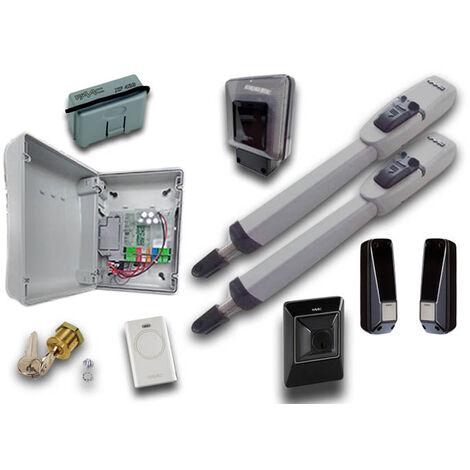 faac kit automatización 24v dc master kit safe 104415144