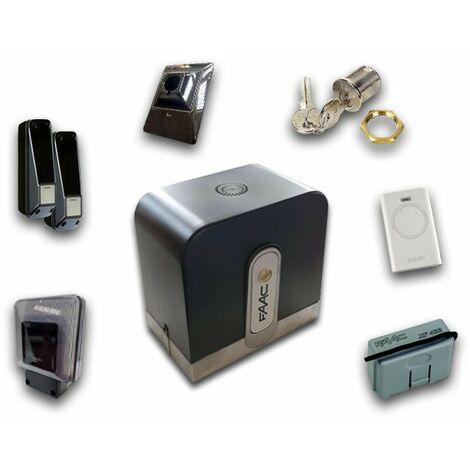faac kit automatización rapid (ex cyclo) 24v dc safe&green 1059995