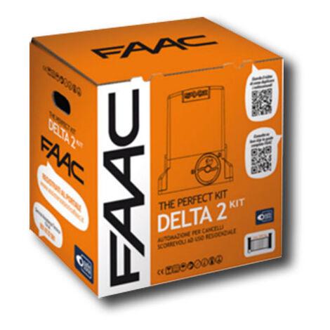 faac kit motorisation 230v delta2 kit perfect 105914fr